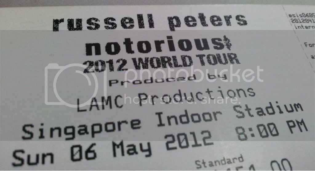 ticket Russell Peters, live!